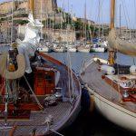 Porto di Bonifacio - velieri d'epoca