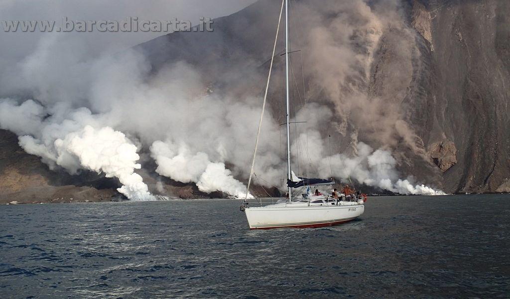 Sotto il vulcano - Stromboli - Isole Eolie