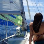 In navigazione verso Ponza