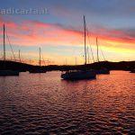 Tramonto a Porto  Palma - Caprera - Arcipelago della Maddalena