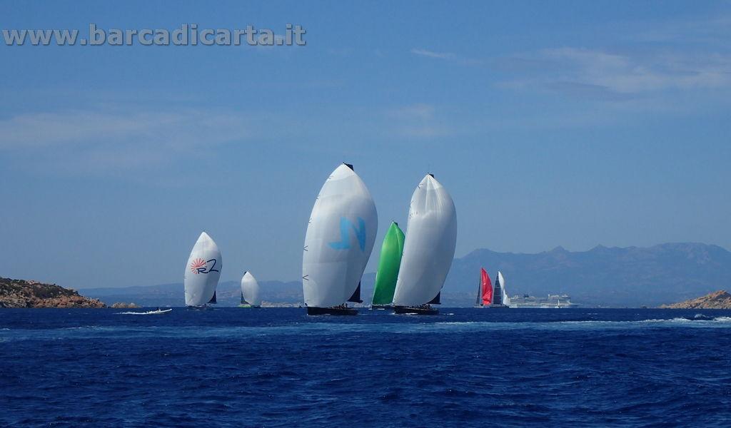 Regata maxi yacht a vela  - Porto Cervo - Sardegna