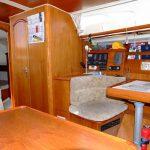 la barca tavolo carteggio e pannello strumenti