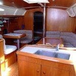 La barca cucina e dinette versione giorno
