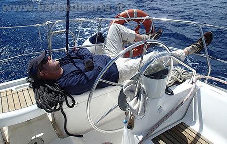 Attrezzatura per andare in barca - occhiali e protezioni per il sole