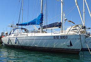 descrizione barca a vela da crociera 12 metri Libra