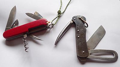 coltello da barca e coltello multiutensile