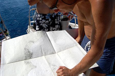 Corso skipper weekend - carteggio in navigazione