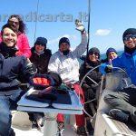 Corso di vela, foto di gruppo