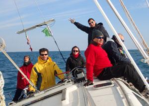 equipaggio regata campionato
