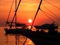immagini di un weekend a vela a Ponza
