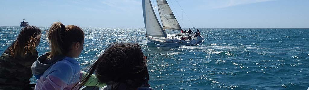 Scuola vela a Ostia corso principianti