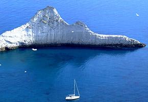 weekend a Ponza in barca a vela - Cala Brigantina